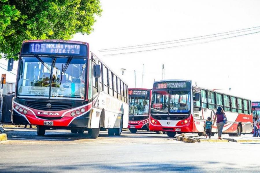 Sorpresivo paro de colectivos en la ciudad de Corrientes
