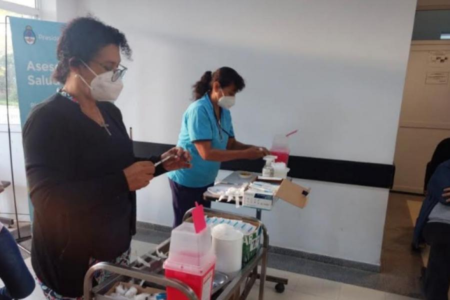 No están disponibles los turnos de vacunación a personas de 45 a 49 años