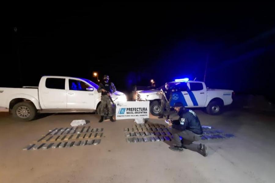 Prefectura secuestró marihuana en Chaco