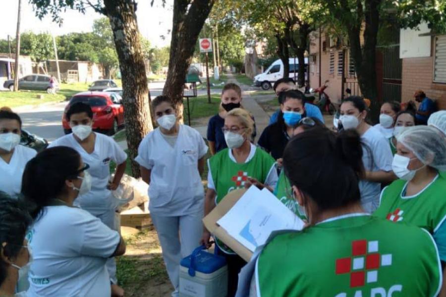 Corrientes: Hay 64 mil personas para recibir la vacuna anticovid