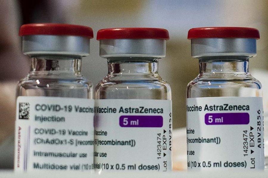 Llegan casi 4 millones de vacunas de AstraZeneca al pais