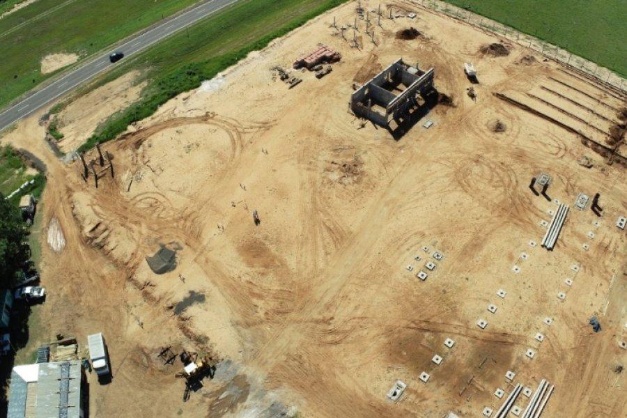 Avanza la construcción de la Estación Transformadora Parque Industrial Ituzaingó