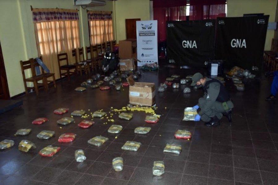Misiones: Despacharon más de 45 kilos de marihuana en encomiendas