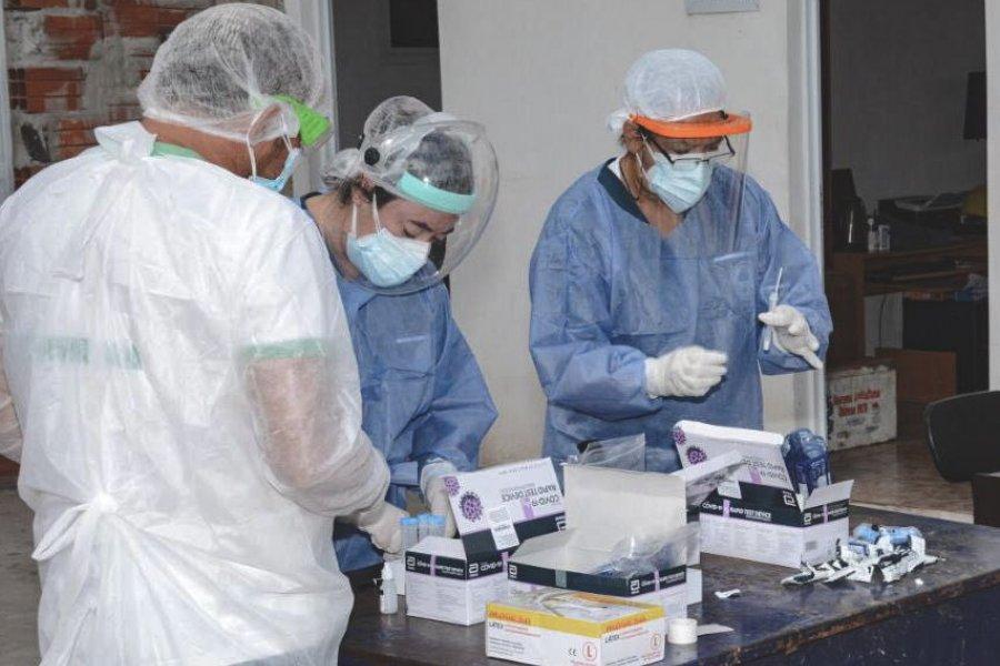 Corrientes con baja aplicación de segundas dosis anticovid