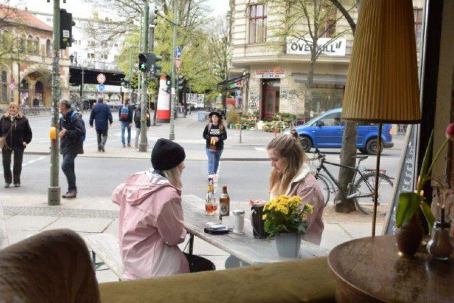 Coronavirus: Berlín reabre bares y restaurantes al aire libre