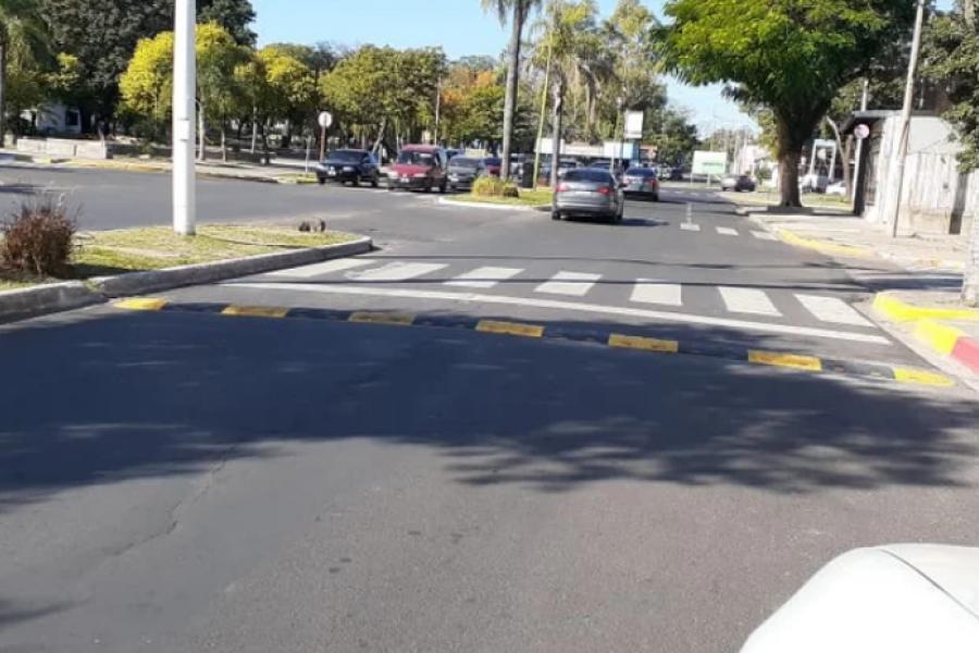 Tránsito: Nuevos reductores de velocidad en Corrientes