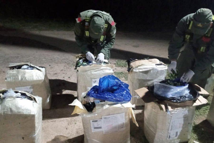 Gendarmería impidió el contrabando de millones de pesos en indumentaria