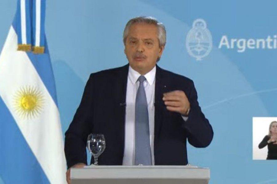 Alberto Fernández anunció un confinamiento por COVID-19 en zonas de alto riesgo
