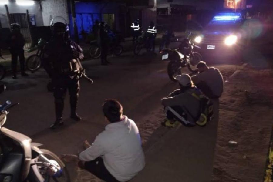 Control policial: Demoraron a 45 personas