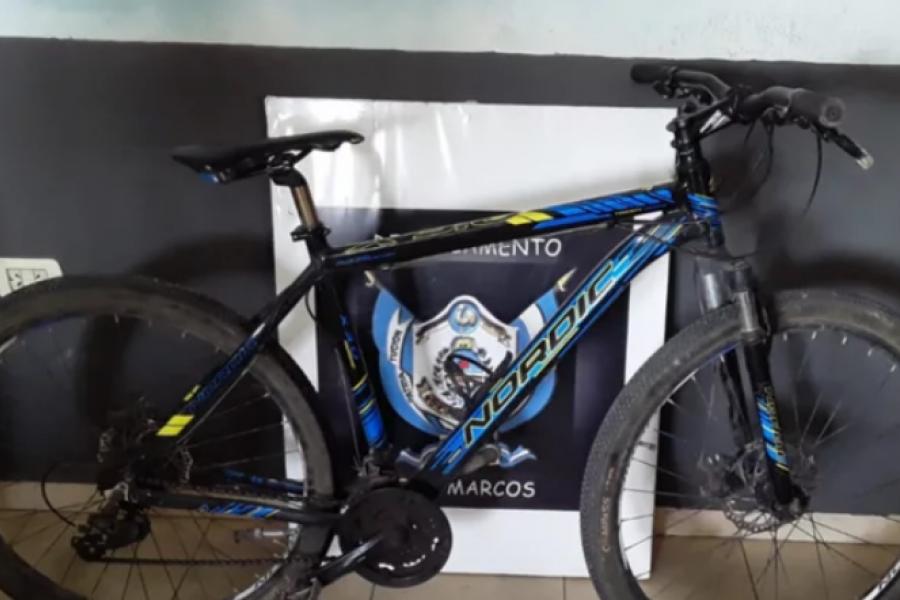 Detuvieron a un adolescente que robó una bicicleta de alta gama