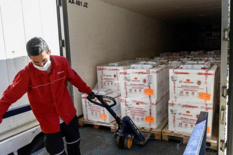 Corrientes recibirá más de 20.000 nuevas dosis de Astrazeneca