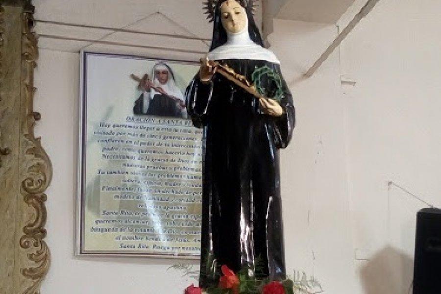 Los correntinos celebran hoy a Santa Rita: La santa de lo imposible