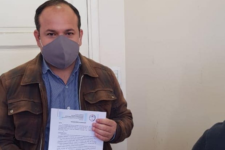 El Viceintendente de Esquina se contagió de Coronavirus