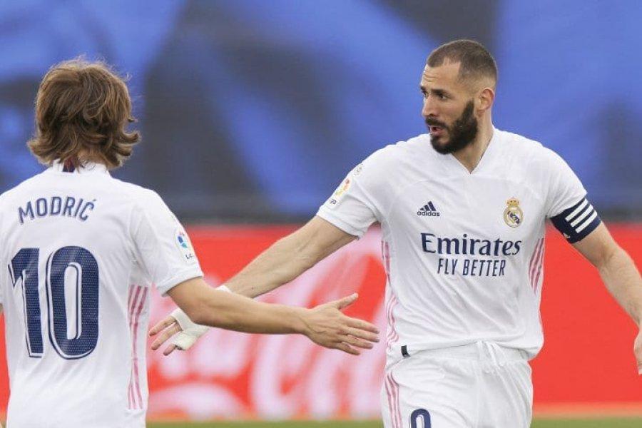 Real Madrid ganó, pero no le alcanzó y se quedó sin título