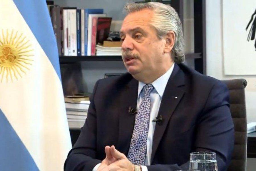 """Alberto Fernández: """"La ley que mandé al Congreso lejos de darme superpoderes, los restringe"""""""
