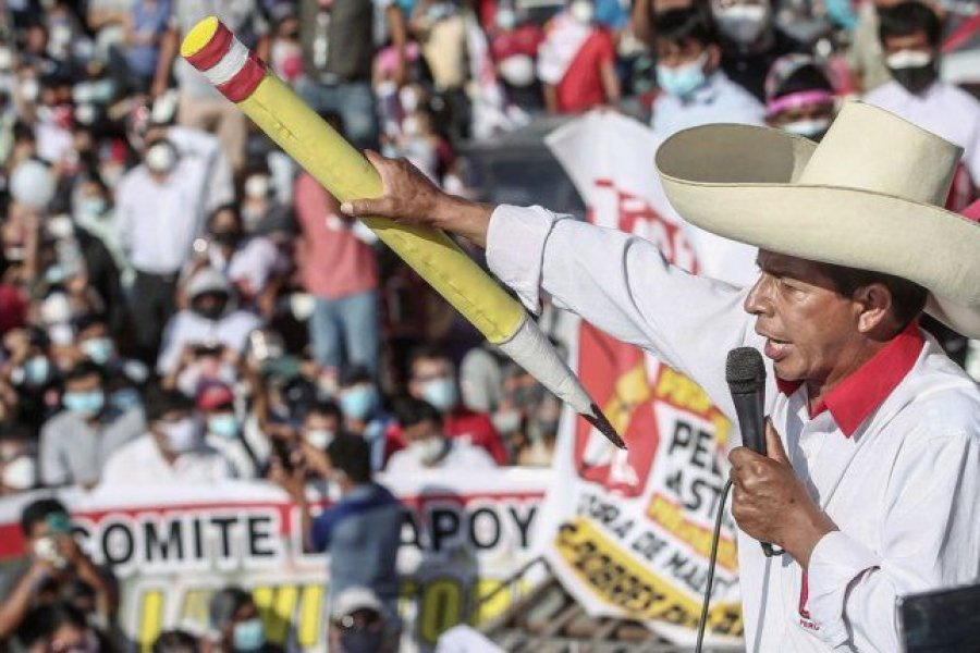 Pedro Castillo volvió a ampliar la ventaja con Keiko Fujimori