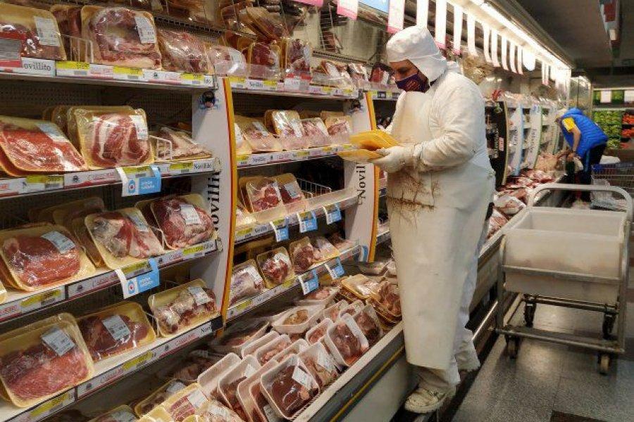 El precio de la carne y sus derivados subió más que el resto de alimentos