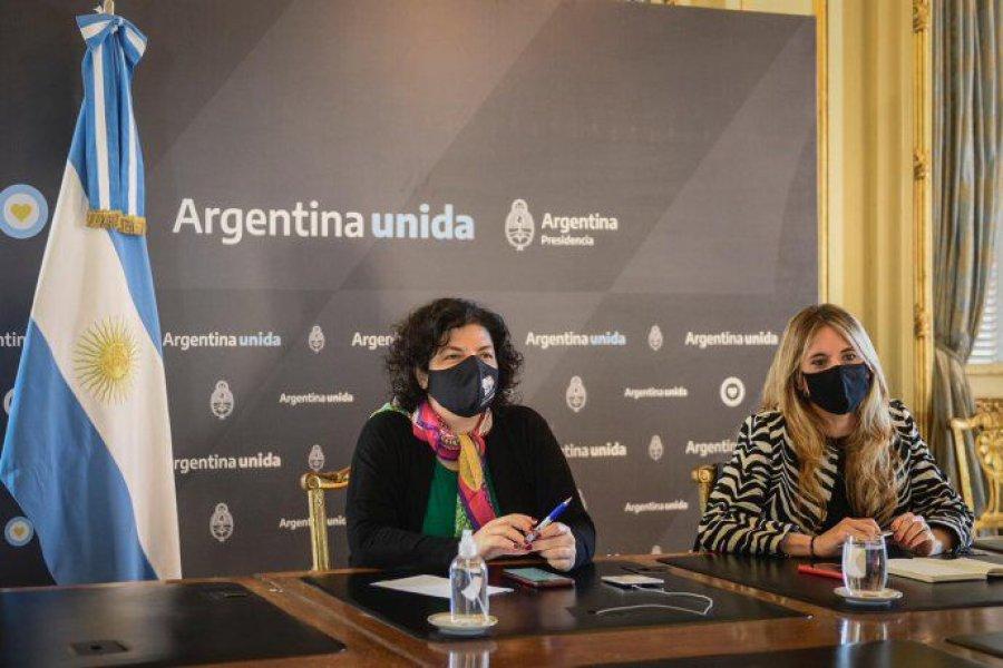 Vizzotti y Nicolini viajaron a México para seguir de cerca la liberación de las vacunas de AstraZeneca