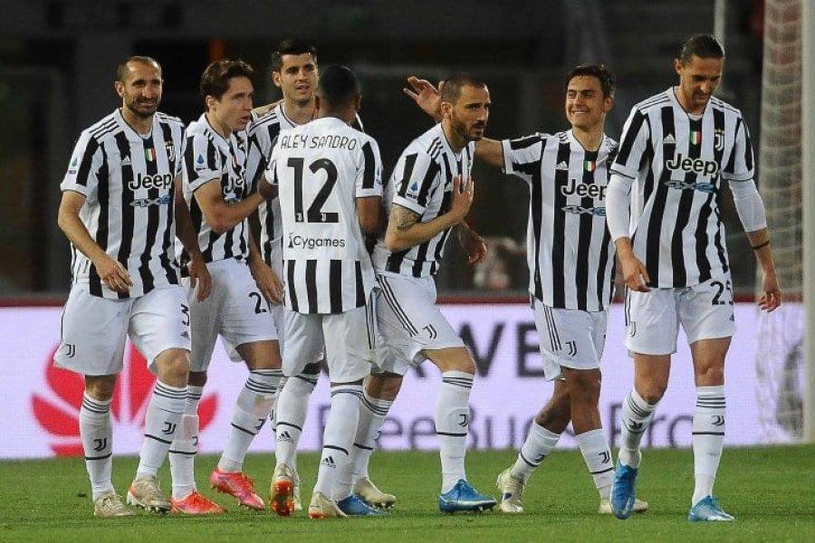 Juventus ganó y clasificó a la Champions League