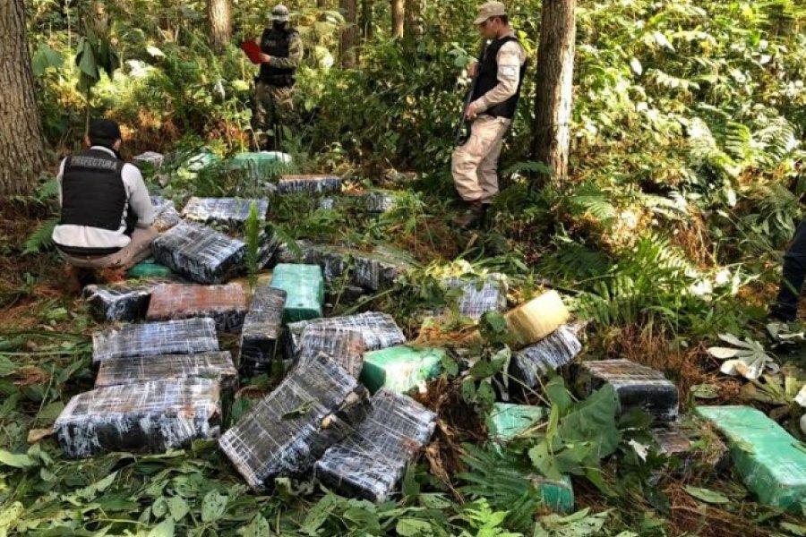 La Prefectura Naval secuestró 975 kilogramos de marihuana