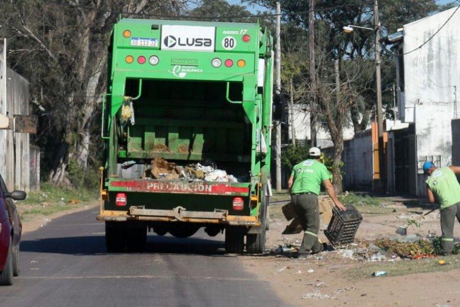 Así será la recolección de residuos los feriados del 24 y 25 de mayo