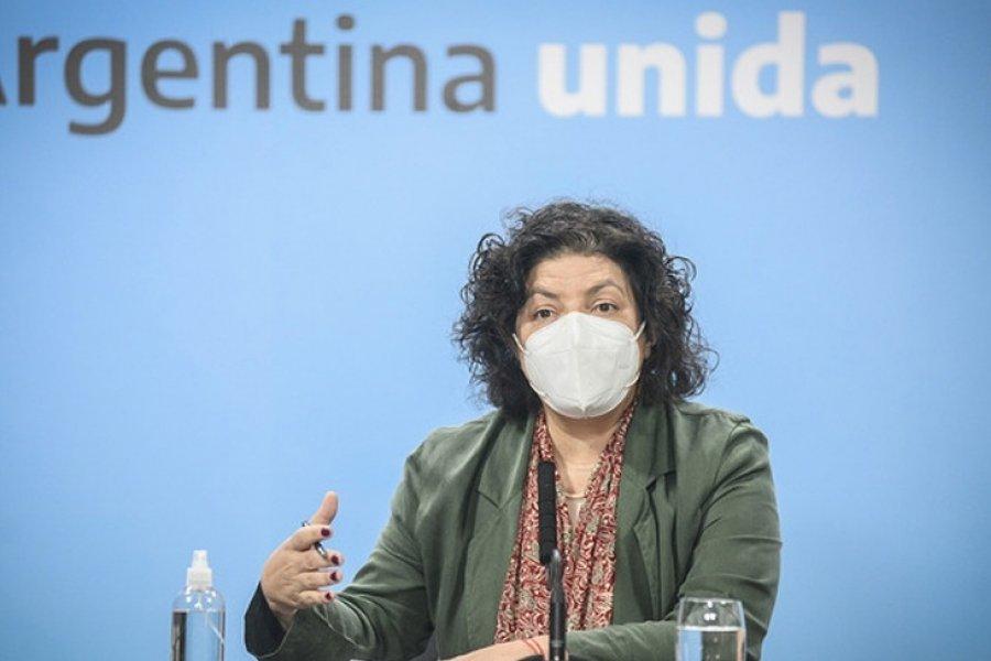 """Vizzotti: Hoy es un día muy importante"""" por la producción conjunta de vacunas"""