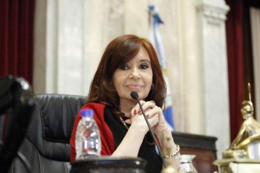 Cristina Kirchner llamó a la unidad y a la solidaridad de los argentinos en tiempos difíciles