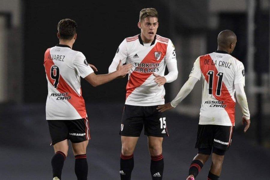 River perdió con Fluminense, pero se clasificó gracias a Junior