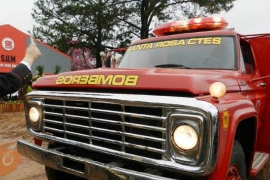 Santa Rosa: Bomberos Voluntarios afectados con Coronavirus