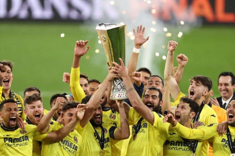 Villarreal le ganó en los penales a Manchester United y es el campeón de la Europa League