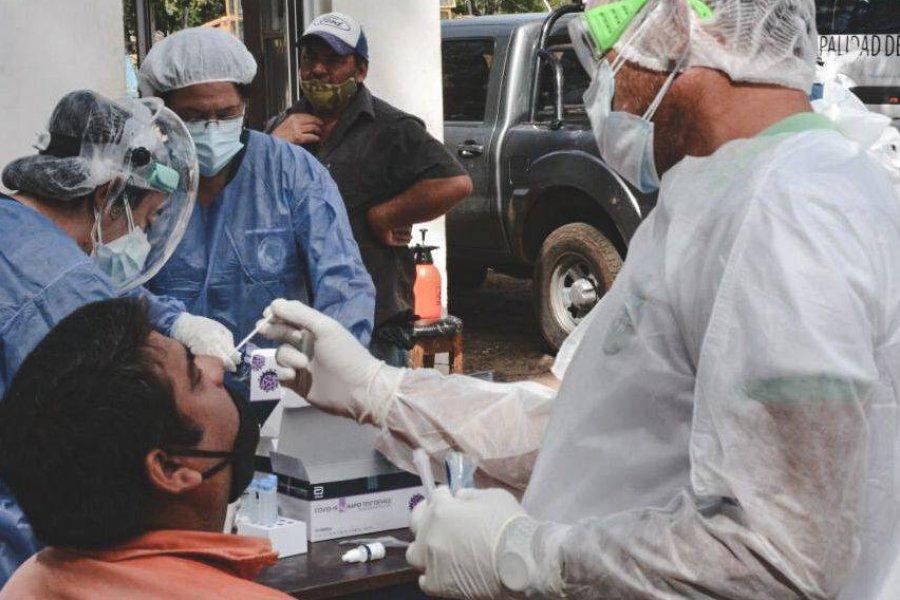Corrientes sumó 587 nuevos casos de Coronavirus