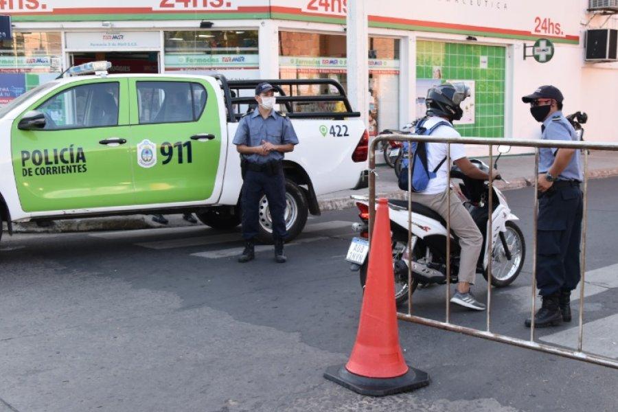 Coronavirus: Alistan vacunación para policías de 30 a 39 años en Corrientes