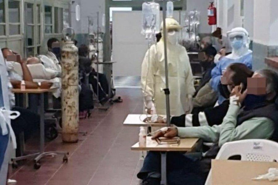 Coordinan el refuerzo de personal médico en el Hospital de Campaña