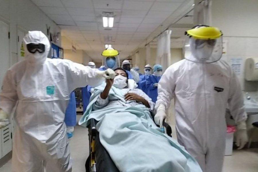 587 muertos y 35.017 nuevos casos de Coronavirus en Argentina