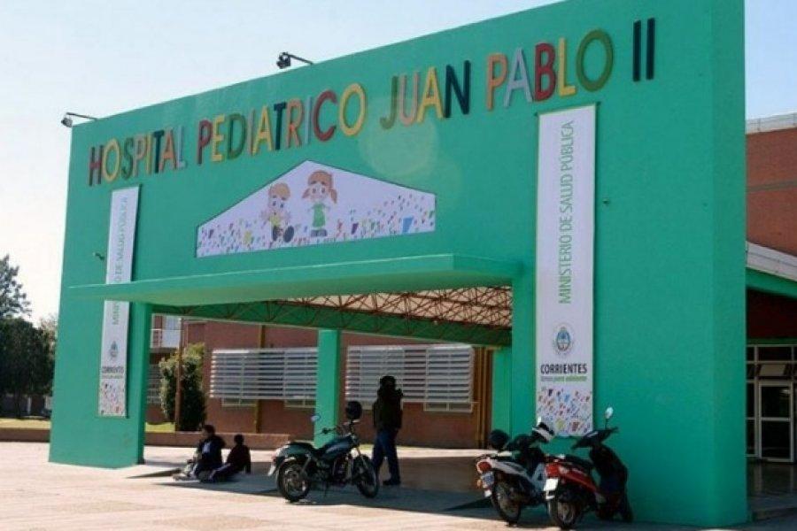 Corrientes: Hay tres chicos internados con Covid en el Hospital Pediátrico