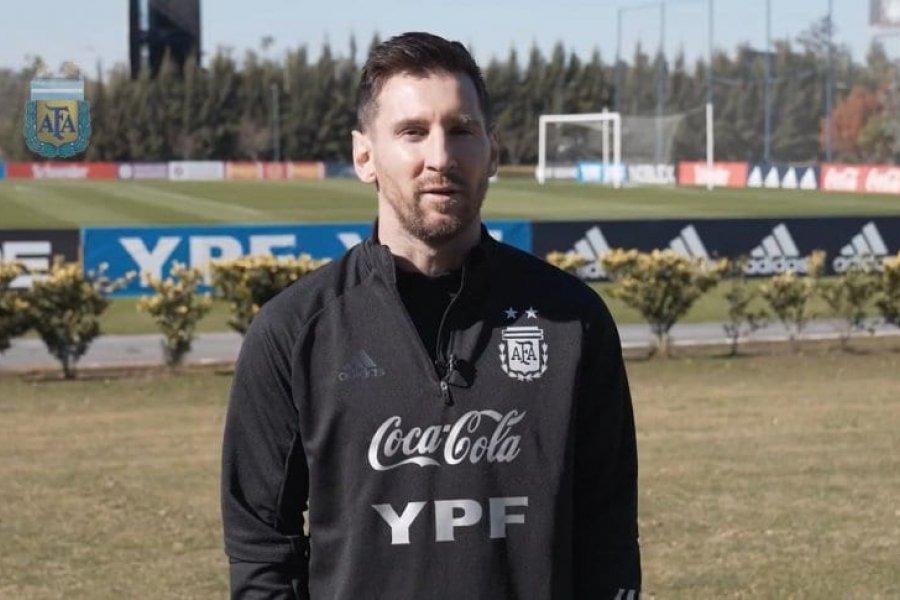 """Messi y su ilusión con la Copa América: """"Es una competición especial con la Selección Argentina"""""""