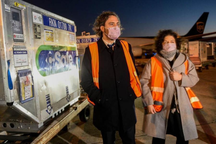 La Argentina superó las 17,6 millones de dosis de vacunas recibidas desde el inicio de la pandemia