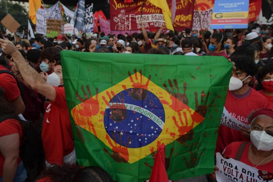 El bolsonarismo admitió el impacto de las protestas y el escenario de polarización con Lula para 2022