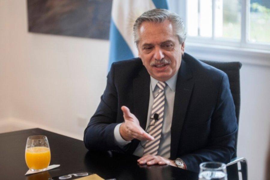 """Alberto Fernández: """"Macri me recomendó que no trabajara más allá de las siete de la tarde"""""""