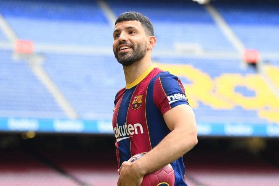 El Kun Agüero ya es el nuevo refuerzo del Barcelona