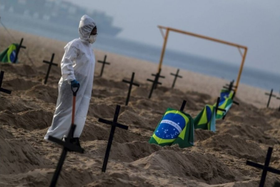 COVID en Brasil: cuál es la situación de la  nueva sede de la Copa América 2021