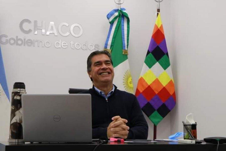 Jorge Capitanich asumió la presidencia del PJ chaqueño
