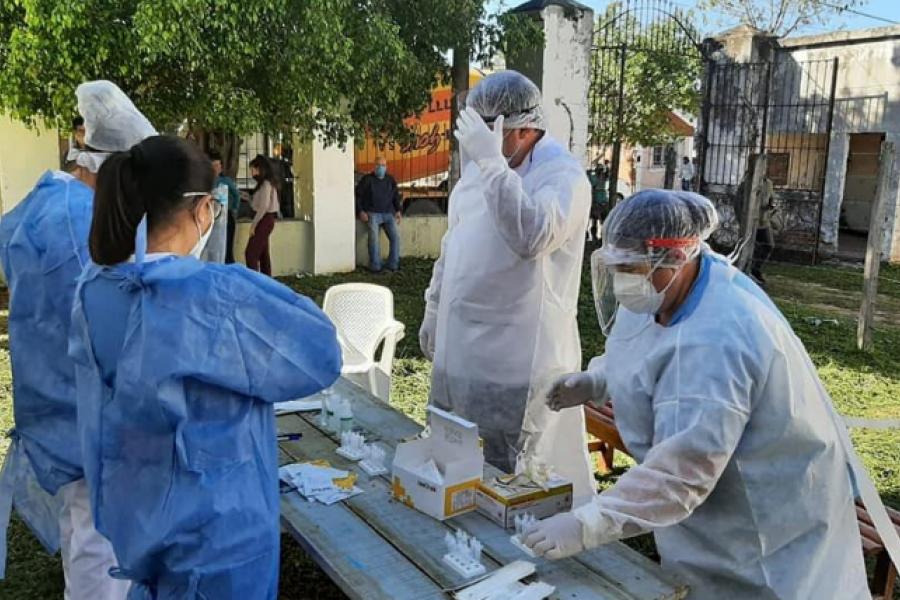 Segunda ola: 86 traslados al Hospital de Campaña y más de 1.000 contagios en Goya