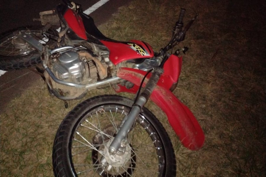 Murió un motociclista que estaba internado tras un choque en Ruta 5