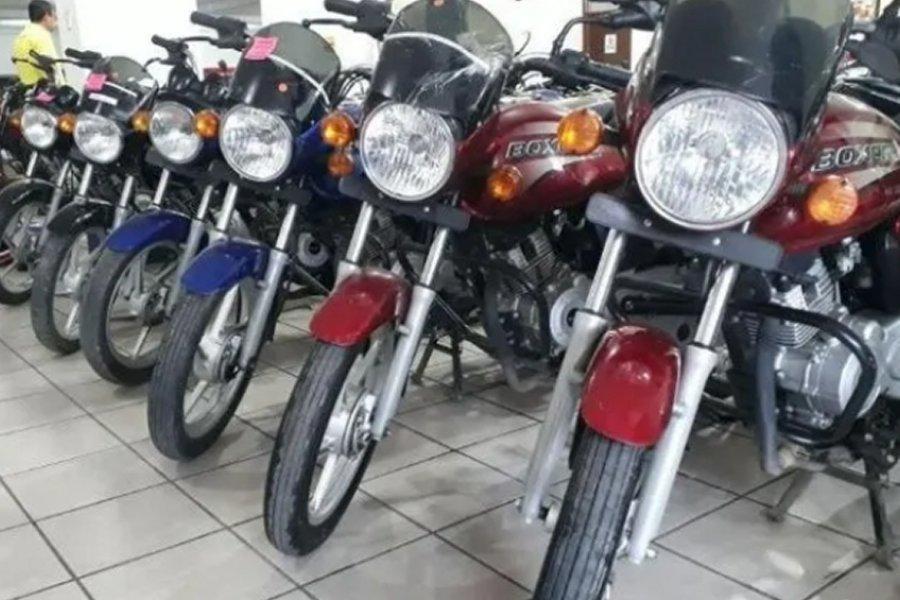 El patentamiento de motos creció 27,4% interanual en mayo