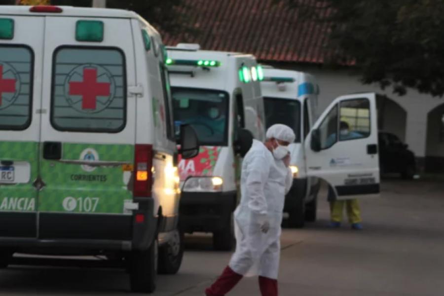 Reforzaron el Hospital de Campaña con profesionales de residencias