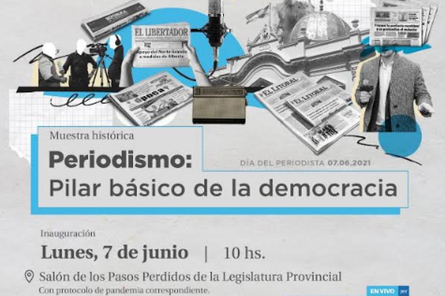 Invitan a Jornadas de Periodismo Parlamentario desde la Cámara de Diputados