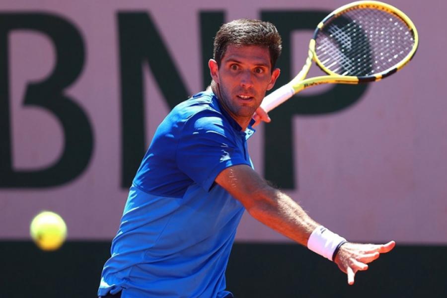 Roland Garros: Federico Delbonis avanzó a tercera ronda de por primera vez en su carrera