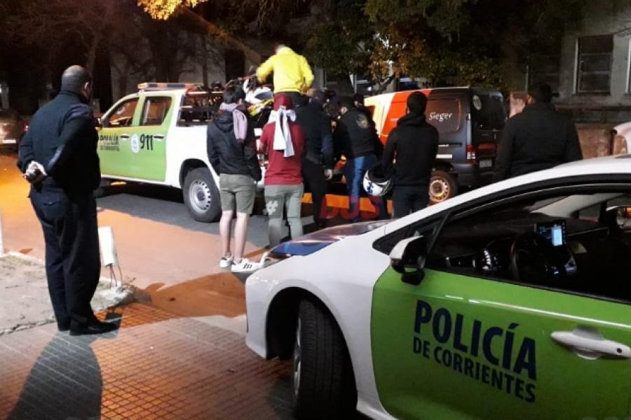 La Policía desactivó una fiesta clandestina en el barrio Aldana