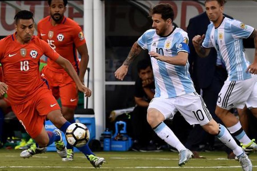 Argentina recibe a Chile en la vuelta de las eliminatorias